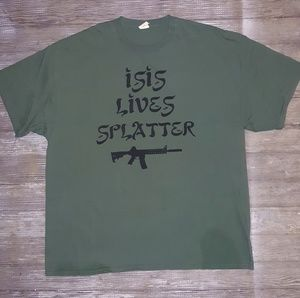 ISIS Lives Spater T shirt size XXL